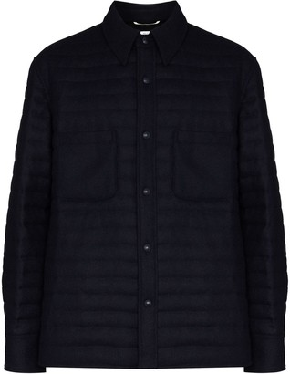 Thom Browne Quilted Shirt Jacket