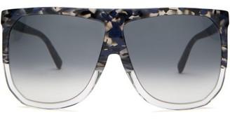 Loewe Filipa D-frame Sunglasses - Womens - Black