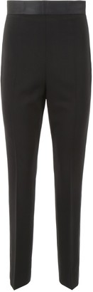 Miu Miu Pressed Pleats Tuxedo Pants