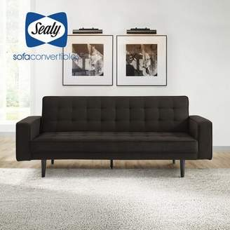 Sealy Sofa Convertibles Tilbury Full Tufted Back Convertible Sofa Sofa Convertibles