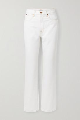 SLVRLAKE London High-rise Straight-leg Jeans - White