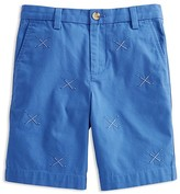 Vineyard Vines Boys' Embroidered Golf Club Twill Shorts - Sizes 8-18