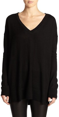 The Row Essentials Amherst V-Neck Sweater