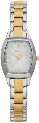 Relic by Fossil Women's Everly Two Tone Stainless Steel Watch - ZR34501