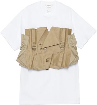 Junya Watanabe Trench Panel Detail T-Shirt