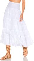 Cleobella x Zella Day for REVOLVE Ruffle Seam Skirt