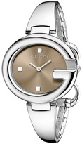 Gucci Guccissima 36mm Stainless Steel Bangle Watch-YA134302 Watches