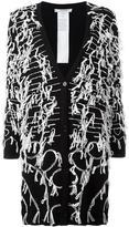 Max Mara allover embroidery cardigan