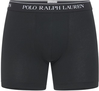 Polo Ralph Lauren 3 Pack Classic Logo Boxer Briefs