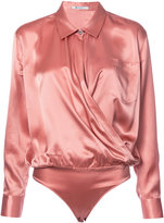 Alexander Wang V-neck silk blouse - women - Silk - 4
