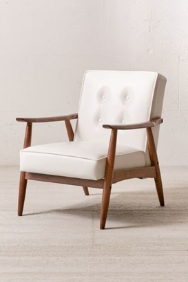 Urban Outfitters Joaquin Faux Leather Arm Chair