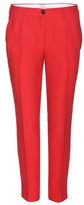 Miu Miu Cropped Crepe Trousers