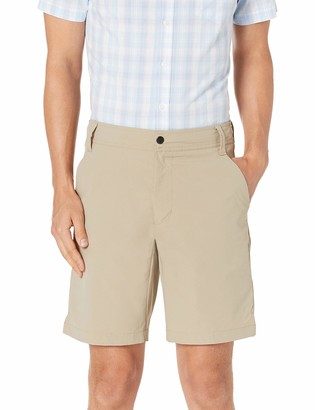 "Amazon Essentials Men's Standard Slim-Fit Hybrid Tech 9"" Short"