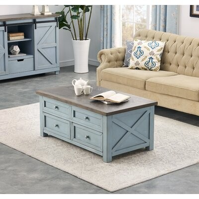Rosalind Wheeler Edmond Lift Top Coffee Table With Storage Shopstyle