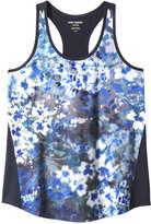Joe Fresh Women's Print Active Tank, JF Midnight Blue (Size XS)
