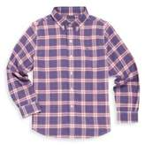 Vineyard Vines Toddler's, Little Boy's & Boy's Peak Plaid Cotton Button-Down Shirt