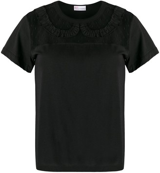 RED Valentino lace insert T-shirt