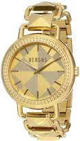 Versus By Versace Women's SOA040014 Coconut Grove Analog Display Quartz Gold-Tone Watch