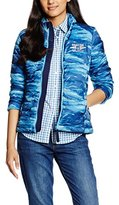 Gaastra Women's Quilted Mao Long Sleeve Jacket Blue Blau (OLYMPIC BLUE F23) 8