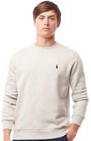 Polo Ralph Lauren Mens Fleece Sweatshirt Light Sport Heather
