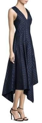 Derek Lam Striped Cotton Dress