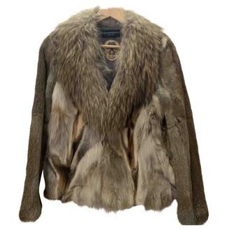 Zadig & Voltaire Beige Fox Jacket for Women