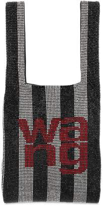 Alexander Wang Mini Wang Lock Embellished Shopper Bag