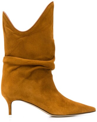 ATTICO Pointed Slouched Boots