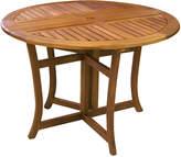 OUTDOOR INTERIORS Outdoor Interiors Freeform Patio Dining Table