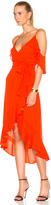 Nicholas Georgette Wrap Dress