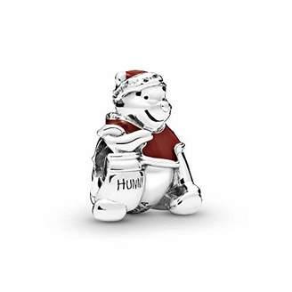 Pandora Silver Charm Winnie the Pooh Hunny Pot Christmas 798451C01