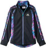 adidas Girls 4-6x Watercolor Full-Zip Score Keeper Jacket