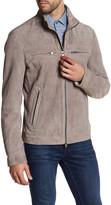HUGO BOSS Genuine Goat Leather Zip Jacket