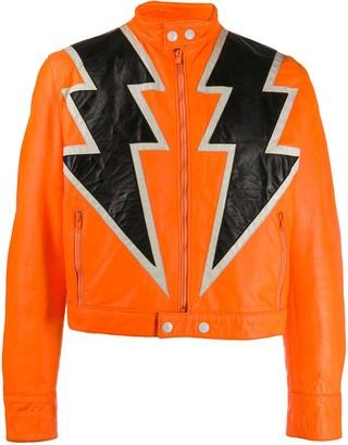 Walter Van Beirendonck Pre Owned 1995/96's Paradise Pleasure Productions Lightning jacket