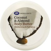 Boots Ingredients Coconut and Almond Body Butter 200ml