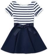 Ralph Lauren Striped Ponte Dress