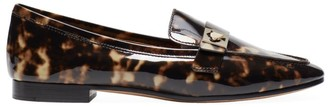 Kate Spade Catroux Tortoise Patent Leather Loafers
