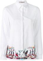 Etro embroidered trim shirt