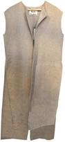 Acne Studios Beige Wool Coats