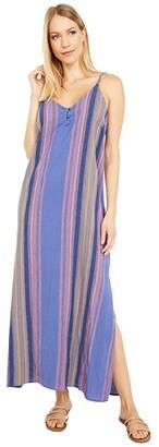 Rip Curl Golden Days Stripe Maxi (Blue) Women's Clothing
