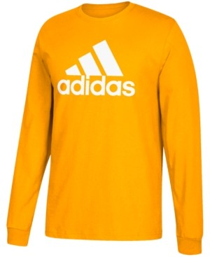 adidas Men's Logo Long-Sleeve T-Shirt