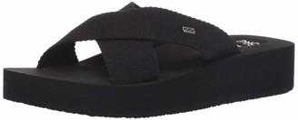 Billabong Women's Boardwalk Sandals Black 6/37