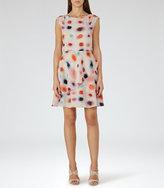 Reiss Lora Printed Dress