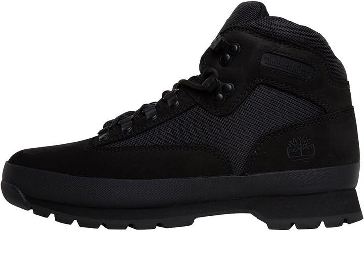 a3d80fb10b6 Mens Euro Hiker Boots Black