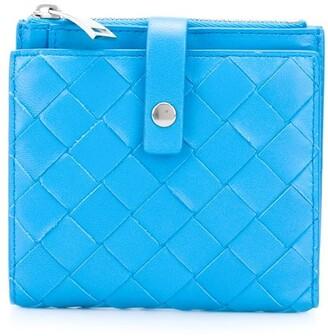 Bottega Veneta Intrecciato-weave wallet
