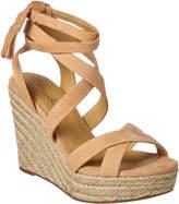 Splendid Janice Suede Wedge Sandal