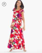 Chico's Bold Floral Attitude Maxi Dress