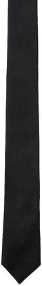 Saint Laurent Satin Tie in Black | FWRD