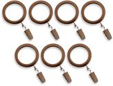 Cambria® Connections Window Curtain Clip Rings in Golden Bronze (Set of 7)