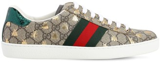 Gucci 50mm New Ace Gg Supreme Fabric Sneakers